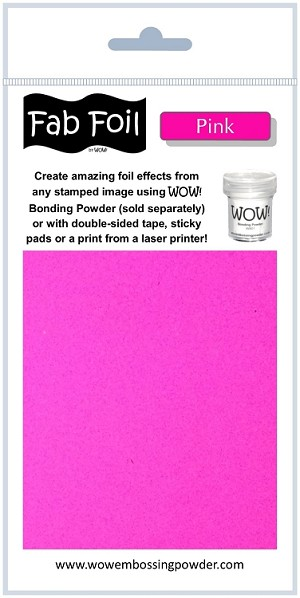WOW! Fab Foil - Pink