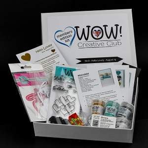 WOW! Creative Club - Kit 8 (Launched September 2019) - Hello Lovely