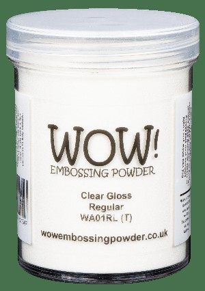 WOW! Clear Gloss Large Jar