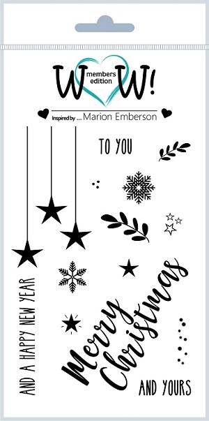 To You and Yours  (By Marion Emberson) - Clear Stamp Set