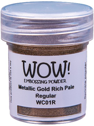WOW! Metallic Gold Rich Pale