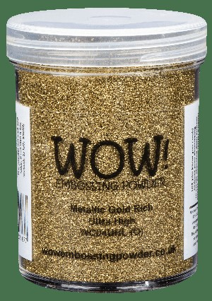 WC04 WOW! Metallic Gold Rich Ultra High Large Jar