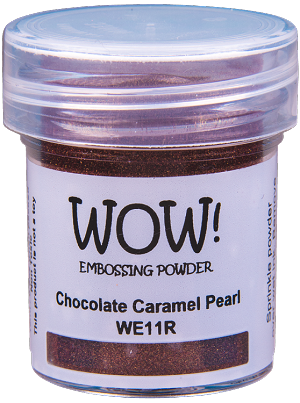 WE11 WOW! Chocolate Carmel Pearl