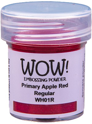 WH01 WOW! Primary Apple Red