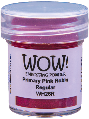 WH26 WOW! Primary Pink Robin