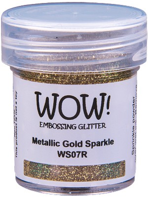 WS07 WOW! Metallic Gold Sparkle