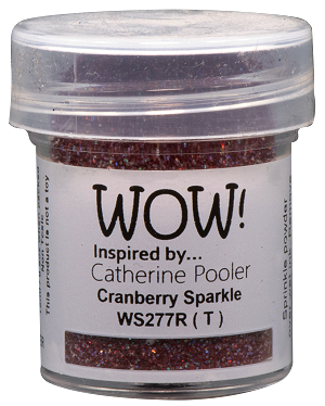 WS277 WOW! Cranberry Sparkle *Catherine Pooler*