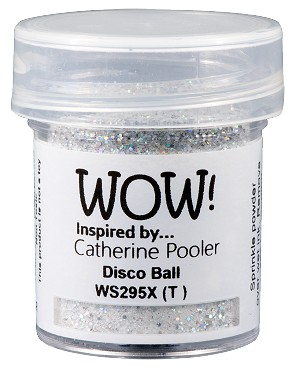WS295 WOW! Disco Ball *Catherine Pooler*